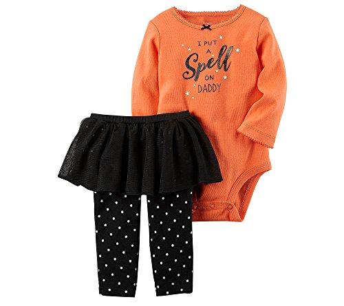 Carter's Baby Girls' 2 Piece Bodysuit And Tutu Pants Set 18 Months