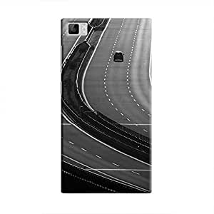 Cover It Up - Highway BW Mi3 Hard Case