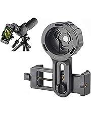 SOLOMARK Cell Phone Photography Adapter Mount -Compatible Telescope Binoculars Monocular, Fit Almost Brands Smartphones