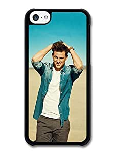 MMZ DIY PHONE CASEAMAF ? Accessories Channing Tatum Beach Posing Actor Portrait case for ipod touch 5
