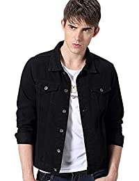 Amazon.com: Black - Denim / Lightweight Jackets: Clothing, Shoes ...