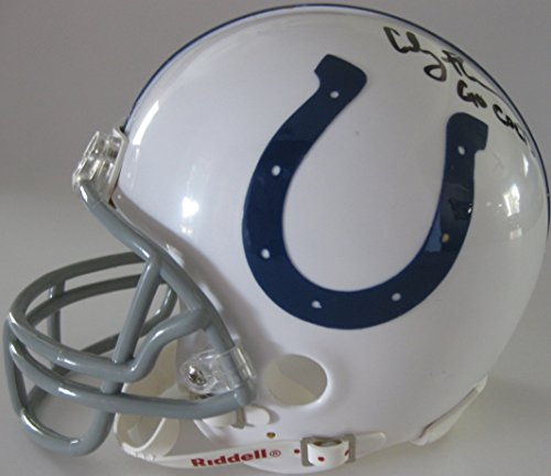 Coby Fleener, Indianapolis Colts, Signed, Autographed, Mini Helmet, a COA with the Proof of Coby Signing Will Be Included