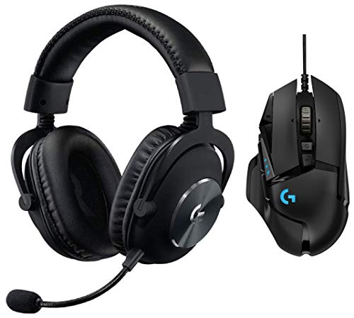 Logitech G502 Hero Gaming Mouse with G Pro Gaming Headset