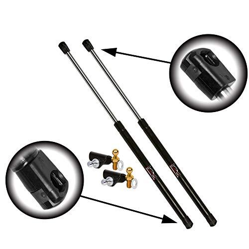 Cantidad (2) StrongArm 4194 Nissan 350Z03 a 08 soporte de elevación con alerón trasero (soporte y botón de bola incluido)