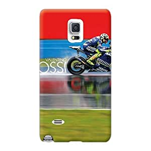 Samsung Galaxy Note 4 WCv11092aaEO Customized High-definition Valentino Rossi Motogp Racer Image High Quality Hard Phone Covers -TimeaJoyce