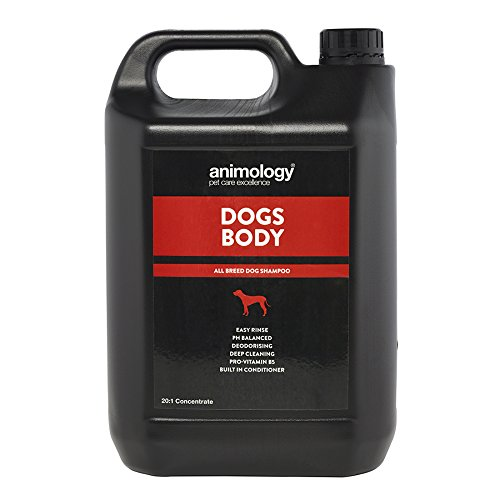 Animology Dogs Body 20 1 Dilutable Dog Shampoo 5l
