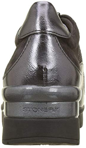 2 Donna Metal Goat Grigio Infilare Stonefly 08w Gray Sneaker magnet Cream 7nRxOUqwB
