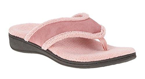 Vionic Bliss - Womens Orthotic Slipper Sandals Rose - 8