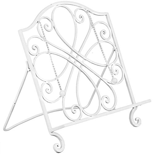 wrought iron cookbook stand - 9