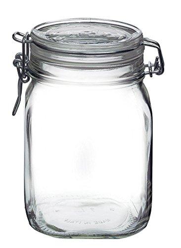 Bormioli Rocco Fido Canning Jar 1.4922, 1L, 1 ()