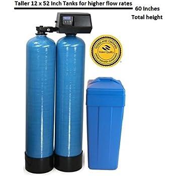 Fleck 9100sxt Dual Tank Water Softener 48k 48 000 Grain