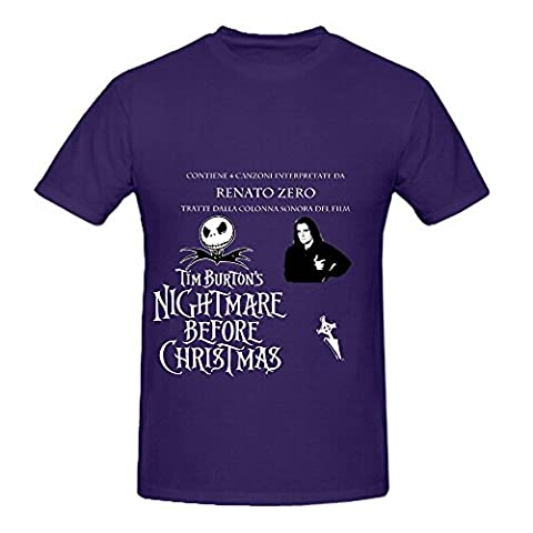 Renato Zero Interpreta Tim Burtons Nightmare Before Christma Pop Mens Cute Shirt (Of Mice And Men Robert Blake)