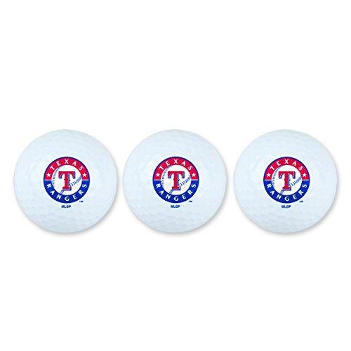 MLB Texas Rangers Golf Ball Pack of 3Golf Ball Pack of 3, (Texas Rangers Ball)