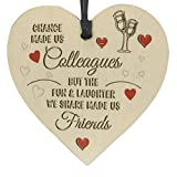 Newkelly Change Made Us Wooden Hanging Pendant Heart Plaque Decor