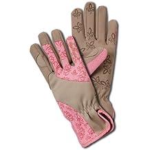 Leather gardening gloves womens for Gardening gloves amazon