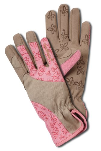 Magid BE168T Bella Women's Floral High Performance Garden Glove