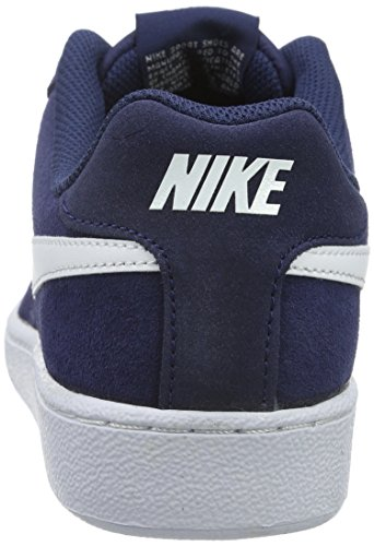 Bleu White de Court Midnight Royale Homme Gymnastique Chaussures Suede Navy NIKE qB0vII