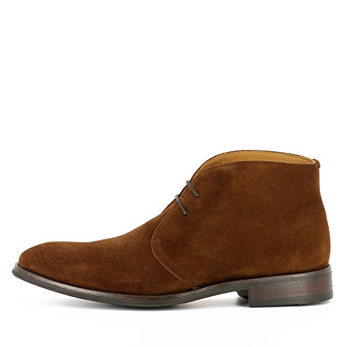 Homme Daim Shoes Stefano Evita Bottine Cognac HqSAwB