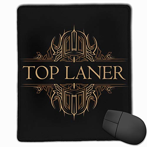 AVBER Mouse Pad Anti Slip Top Laner Mouse Mat for Desktops Computer PC and Laptops, Premium Mousepad for Office and Home (Best Top Laners Right Now)