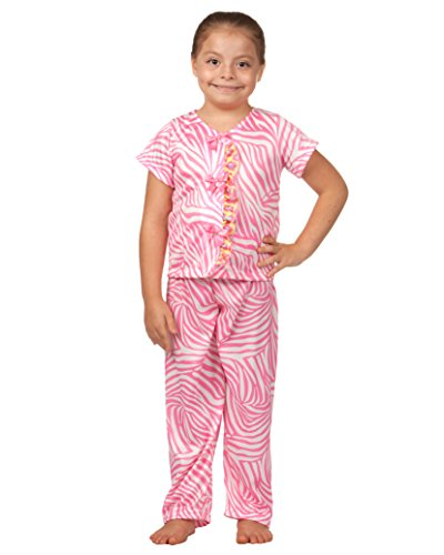 Laura Dare Little Girls Skin Perfection Ladies Taylored Pajama, Size 6