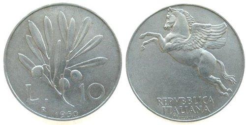 Italian Lire Coin - 6