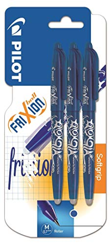 - Pilot Frixion Erasable Rollerball Pen - BLUE Triple