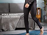 Eizniz Men's 100% Merino Wool Thermal 260g Base