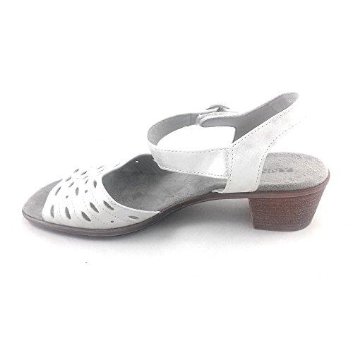 Jenny Damen Sandalen Weiß Weiß