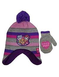 Nickelodeon Toddler Paw Patrol Hat and Matching mitten set