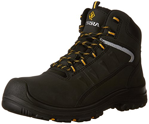 Kodiak Steel Toe Shoes - Terra Men's Findlay Industrial & Construction Shoe, Black, 12 M US