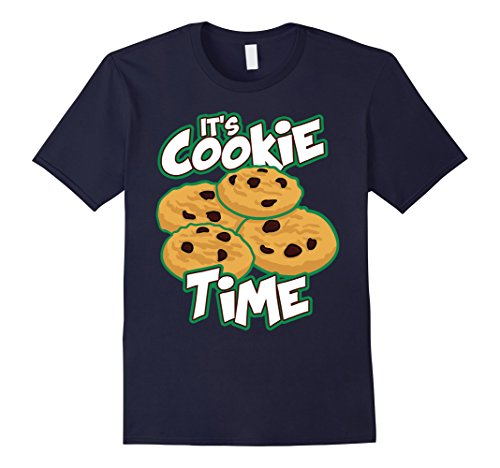 mens-scout-shirt-its-cookie-time-cookies-gift-for-girls-t-shirt-medium-navy