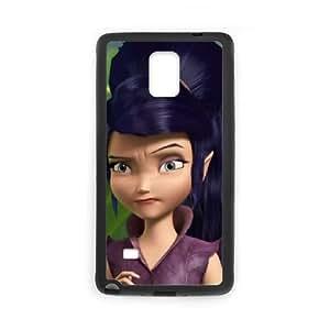 Samsung Galaxy Note 4 Cell Phone Case Black Disney Fairies Character Vidia Nkmzh