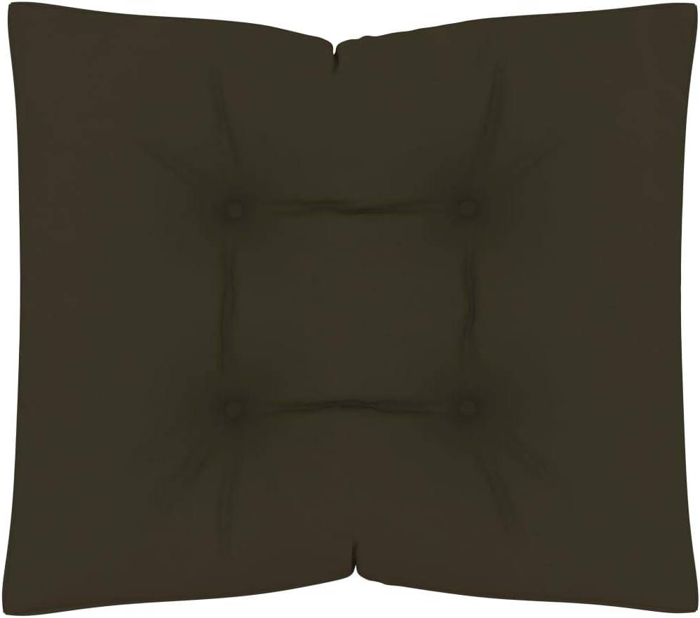 UnfadeMemory Cuscini per Pavimento a Pallet 2 pz Antracite in Tessuto