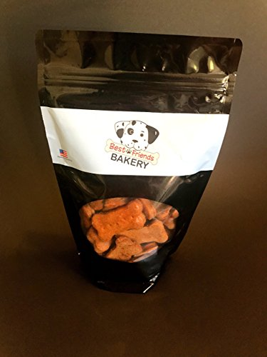 Made in the USA All Natural and Organic Best Friends Dog Treat Biscuit Bones - Beef Flavor