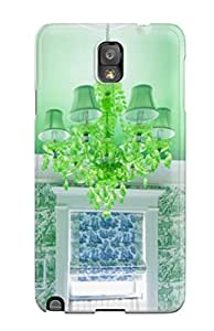 ZippyDoritEduard Galaxy Note 3 Hybrid Tpu Case Cover Silicon Bumper Green Chandelier And Green Ceiling