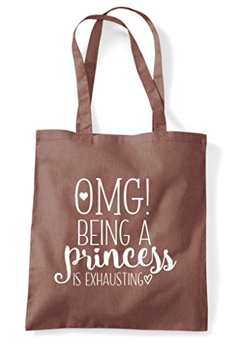Is Chestnut Shopper Bag Oh Tote My Statement God Being A Exhausting Princess qXvPUq
