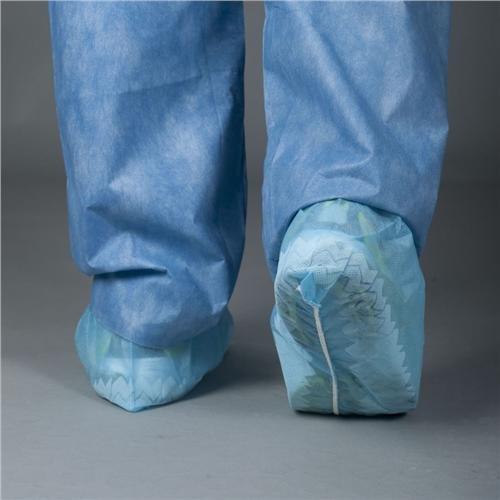 Tronex 4840B Spunbond Shoe Cover, Non-Skid, Fluid-Resistant, xl (Pack of 300)