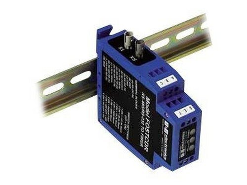 (B&B FOSTCDR Industrial Serial to Multimode Fiber Optic Converter - Serial Port Extender (FOSTCDR) -)