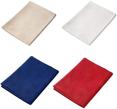 قماش تطريز من القطن والكتان من 4 قطع قماش بنمط لون موحد لمستلزمات التطريز وصنع الملابس من دينرايزي Amazon Ae