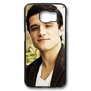 iCustomonline Josh Hutcherson Black Plastic Hard Back Shell for Samsung Galaxy S6