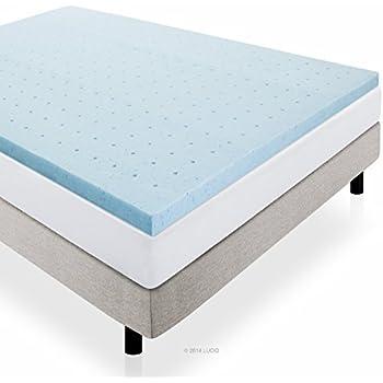 Amazon Com Sleep Better Isotonic Therapure 2 Inch Mattress Topper