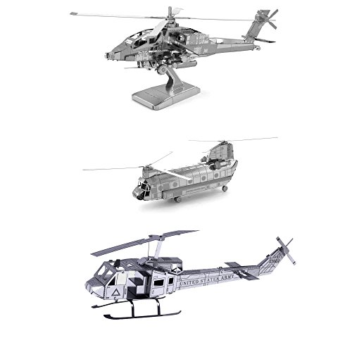 Metal 3d Helicopter - 4
