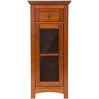 Amazon Glitzhome 3433 H Wooden Floor Storage Cabinet With 1