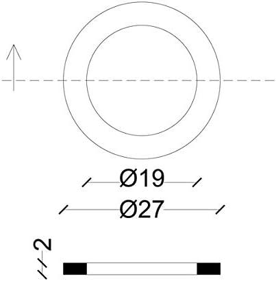acquastilla 112512/Gaskets for bocchettoni Cast Iron