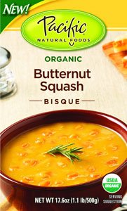 Pacific Natural Foods Bisque, Butternut Squash (12x17.6Oz)
