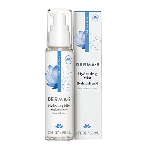 - DERMA E Hydrating Mist with Hyaluronic Acid, 2 Fl oz