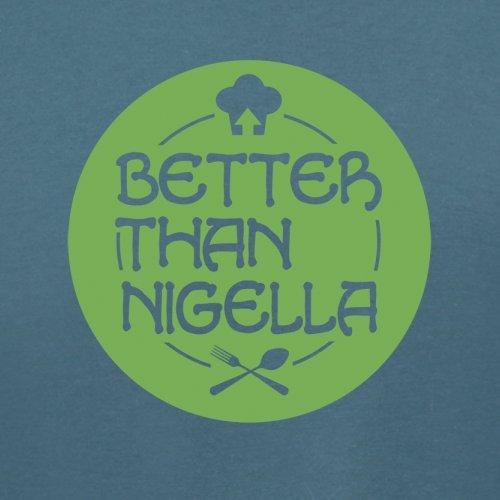 Mejor Que Nigella–para mujer T-Shirt–�?4colores Índigo