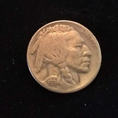 (1934 (Indian Head) U.S. Buffalo Nickel VG to FINE+ American Mint U.S.A. )