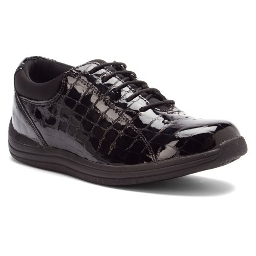 Drew Women's Croc Black Shoe Shoe Drew Women's Black 8XqrwC8n