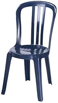 Grosfillex Monobloc Chaise de Miami Bistrot empilable